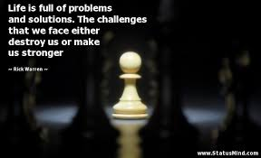 problems stronger