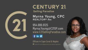 Myrna Young, Century 21 Realtor
