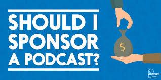 Podcast sponsor