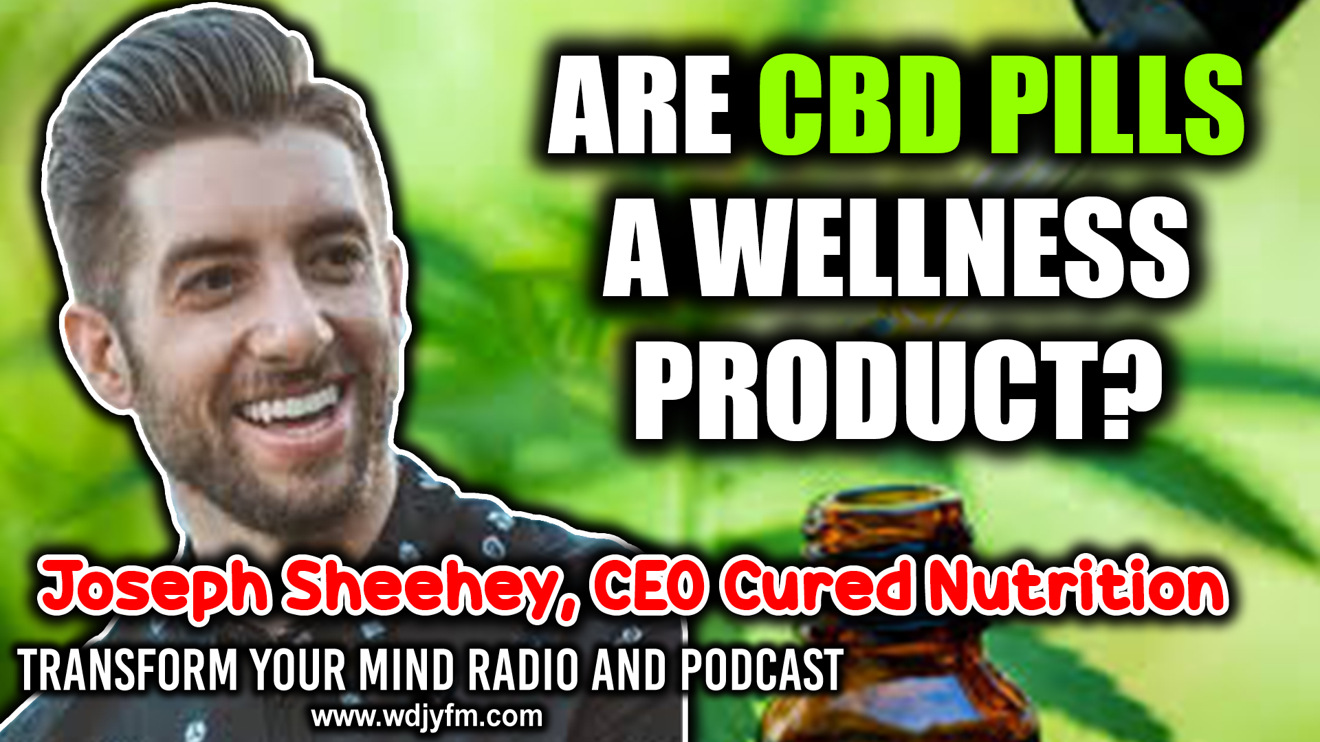 CBD pills wellness product