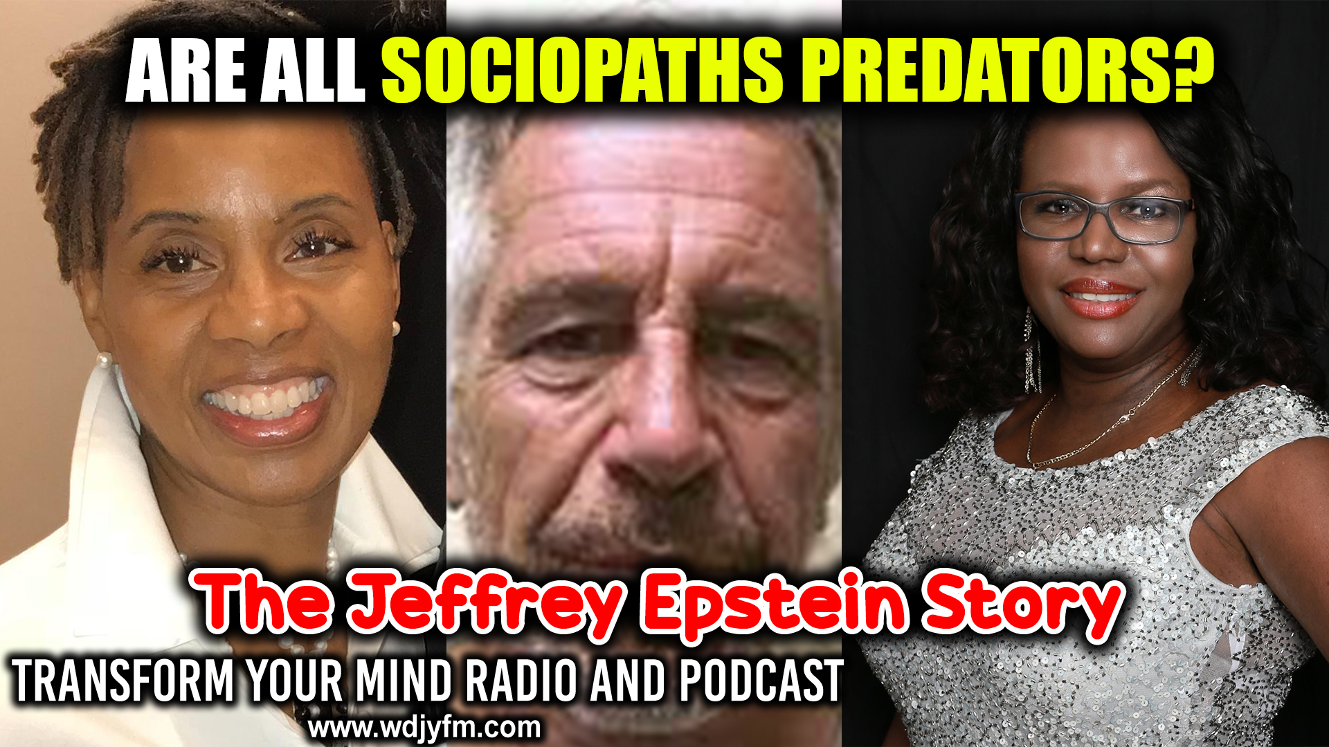 Sociopaths like Jeffrey Epstein